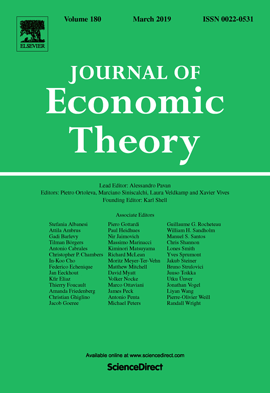 Journal of Economic Theory